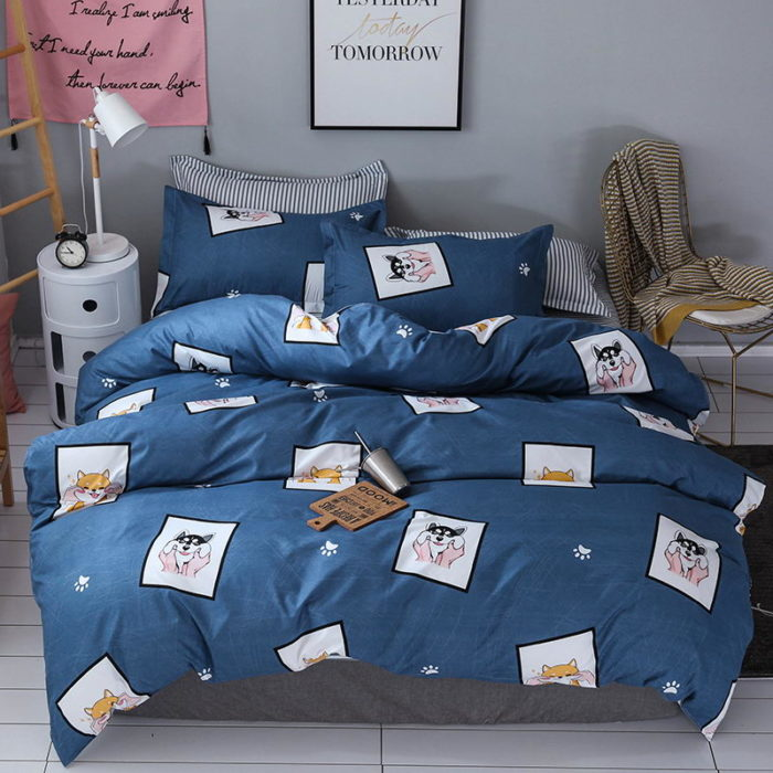 Cute Bed Cover Set Luxury Designs