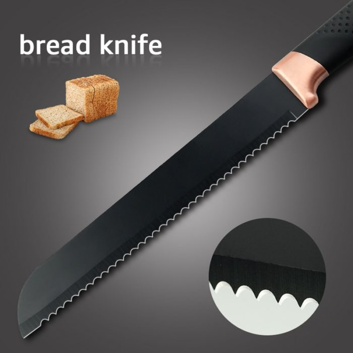3pcs Stainless Steel Chef Knife Set