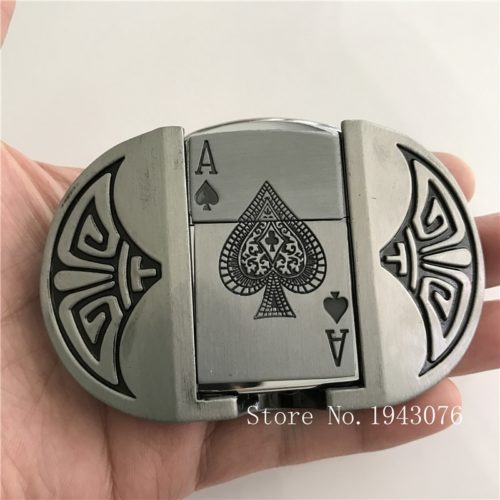 Belt Buckles Card Gas Lighter