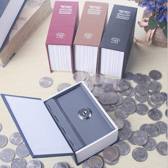 Book Safe Secret Cash Box