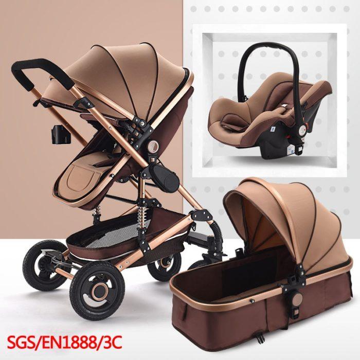 Baby Prams 3in1 Carrier Folding Stroller