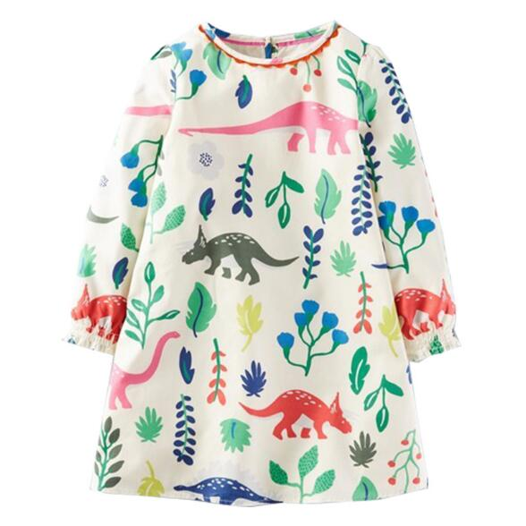 100% Cotton Little Girls Dresses
