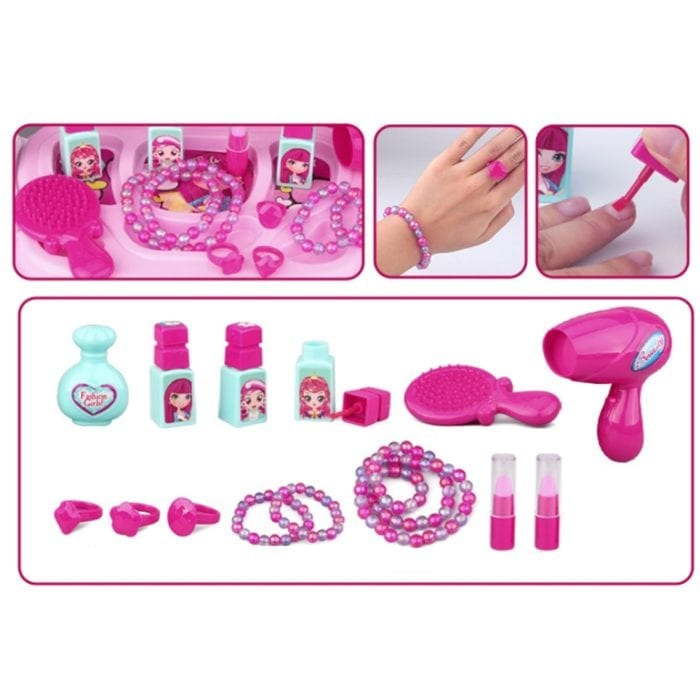 Kids Makeup Kit Pretend Play Toy
