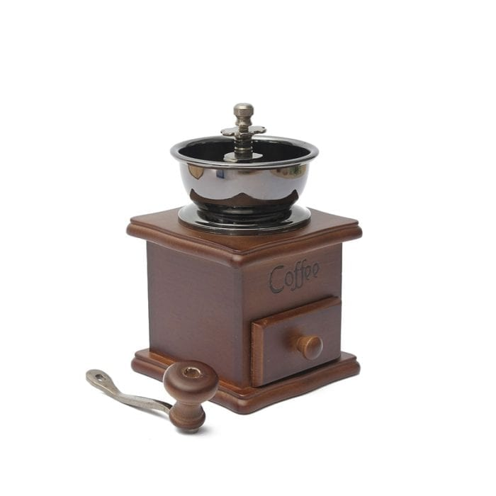 Manual Coffee Grinder Classic Wood
