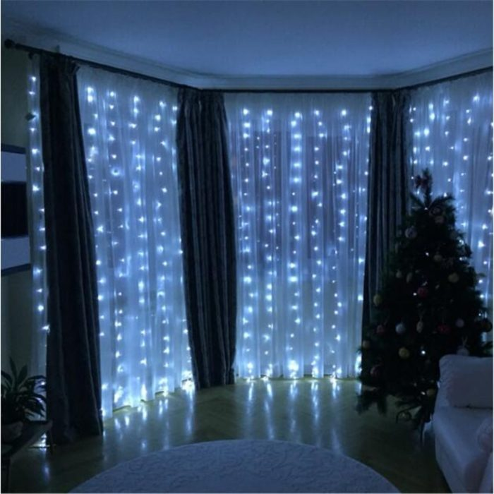 300LED 8 Modes Backyard String Lights