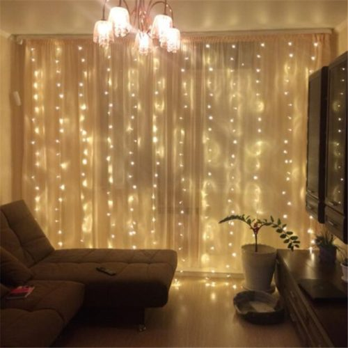 300LED 8 Modes Backyard String Lights