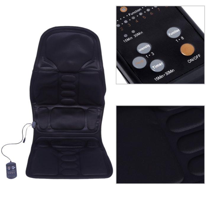 Electric Chair Massage Portable Heat Cushion