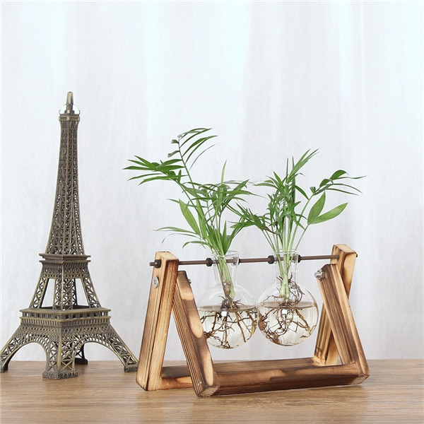 Glass Indoor Plant Pots Home Terrarium