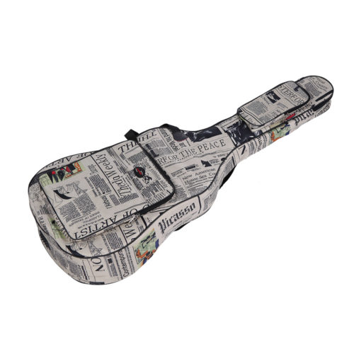 Guitar Case Newsprint Gig Bag