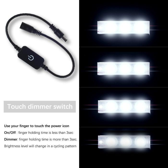 Vanity Light Up Mirror LED Lights