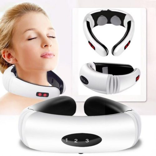 Neck Massager Heating Pain Relief Tool