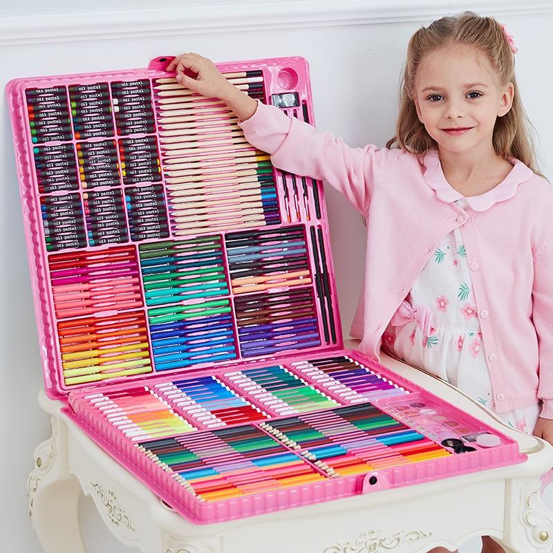 - Art Set Kids' 168/288pcs Coloring Tools - Life Changing Products