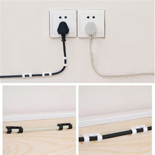 Wire Organizer Wall Cable Sticker