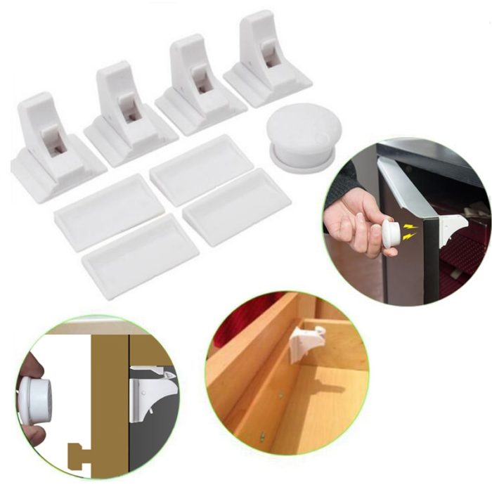 Child Door Locks Magnetic System