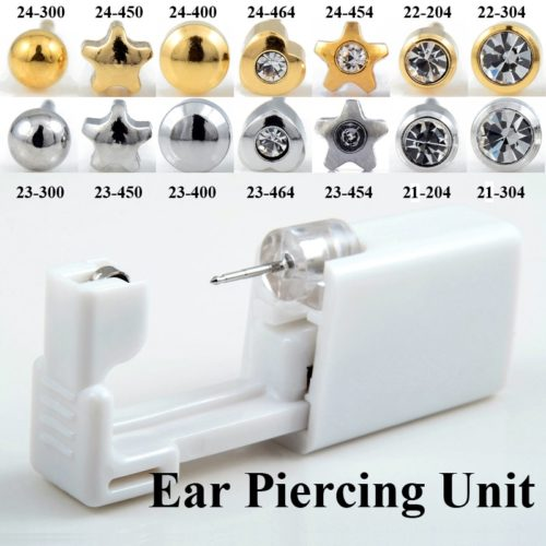 Piercing Kit DIY Ear Stud Gun