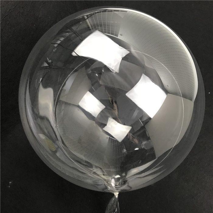 Clear Balloons DIY Party Decor