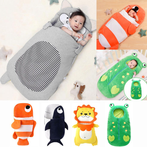 Kids Sleeping Bag Thick Baby Blanket