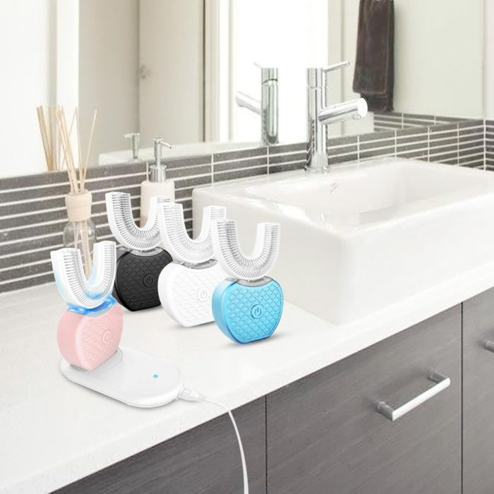 360 Automatic Toothbrush Electric Silicone Brush