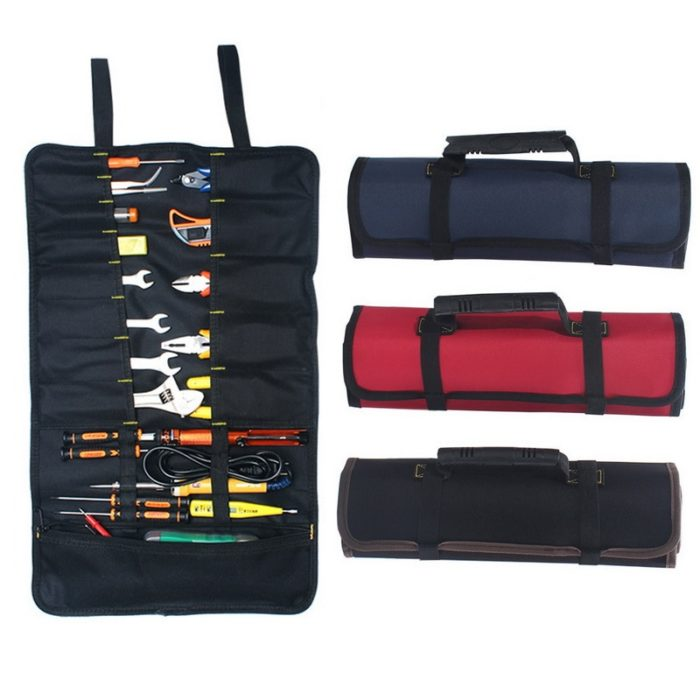 Tool Pouch Multifunctional Canvas Carry Bag