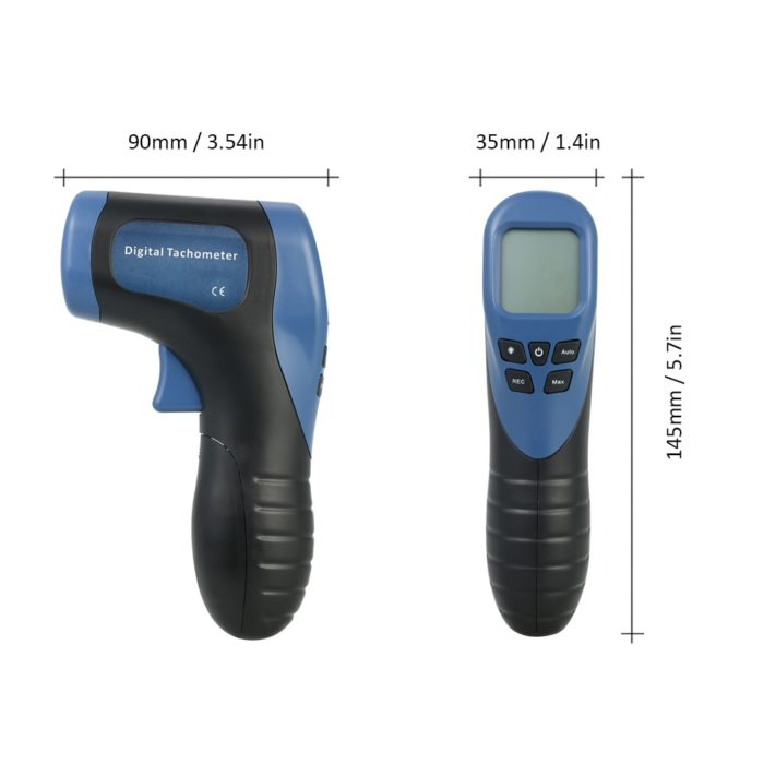 Digital Tachometer RPM Meter Device
