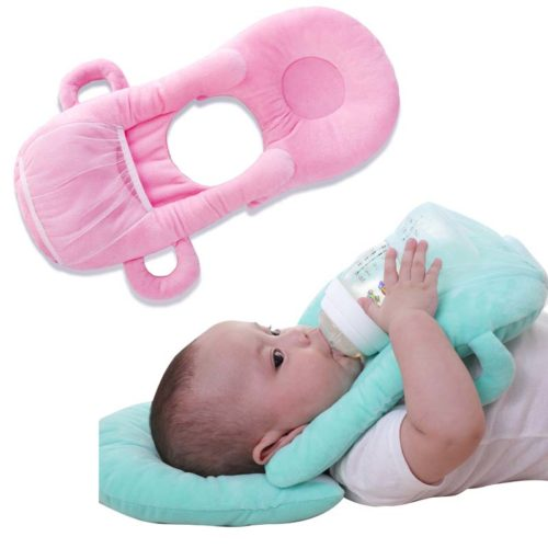 Baby Bottle Holder Pillow