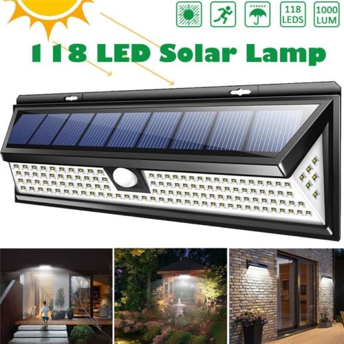 Solar Lights Outdoor LED Lamp