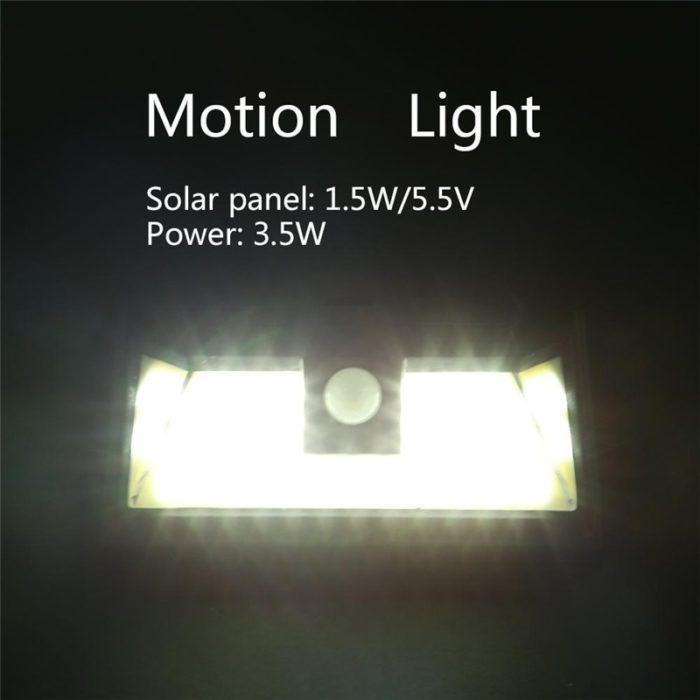 Solar Lights Outdoor LED Lamp