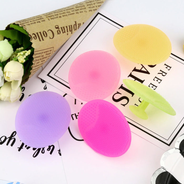 Cleansing Brush Silicone Pad