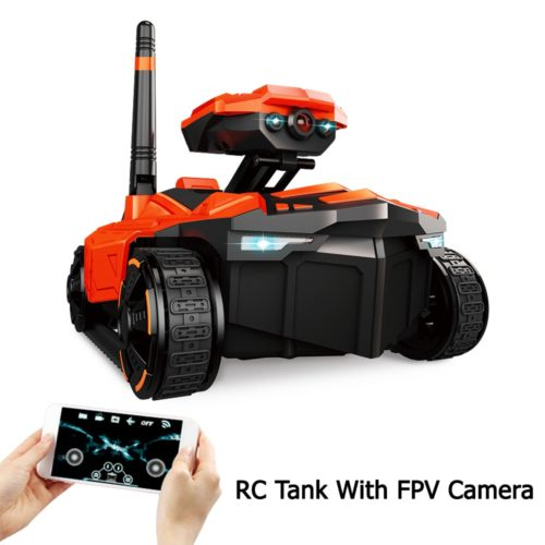 Toy Tanks Camera Remote Car