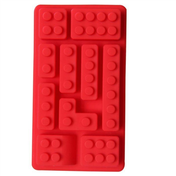 Lego Mold Silicone Ice Cube Tray