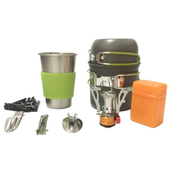 Camping Cookware Portable Tableware Set