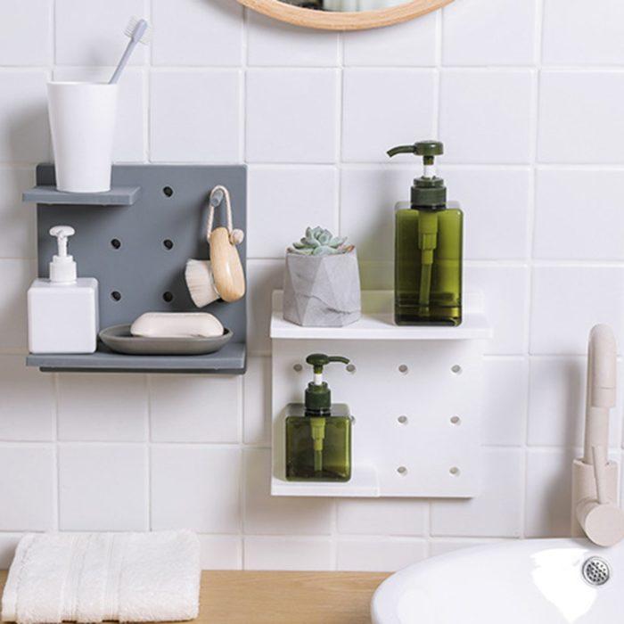 Bathroom Wall Shelves Rack Storage