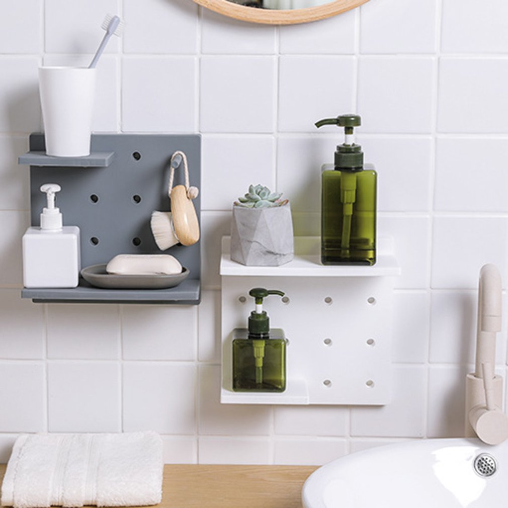 Bathroom Wall Shelves Rack Storage - Life Changing Products