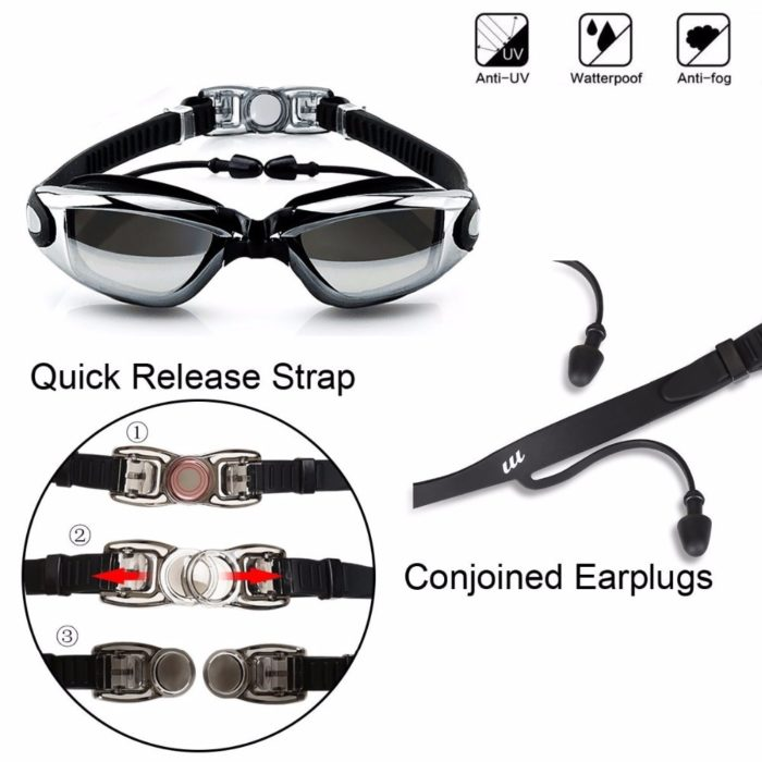 Swimming Goggles Adjustable Gear Set