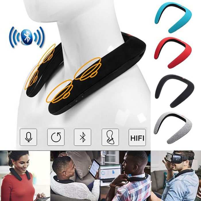 Neck Speakers Portable Bluetooth Player