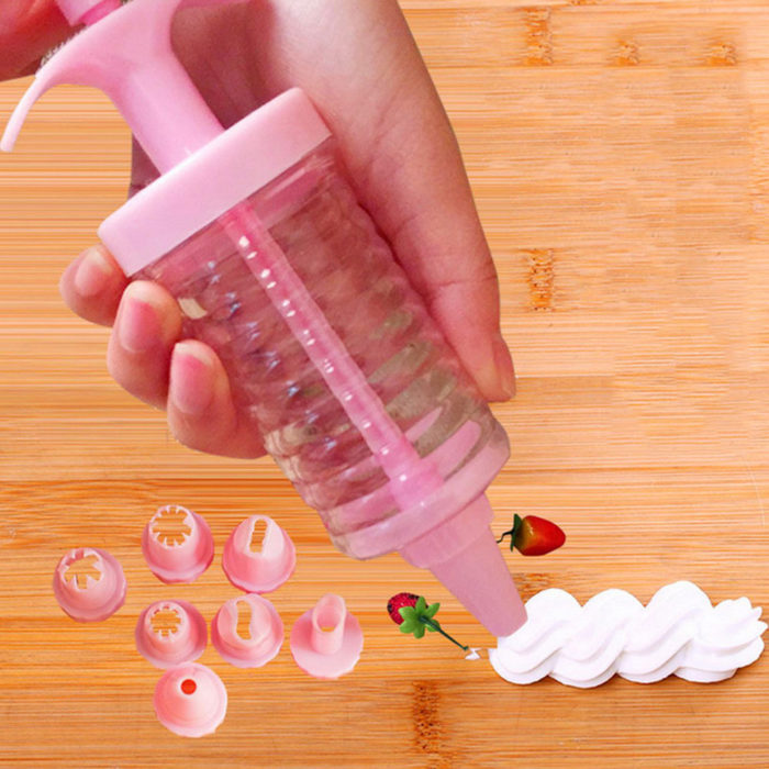 Piping Tips Syringe Icing Dispenser