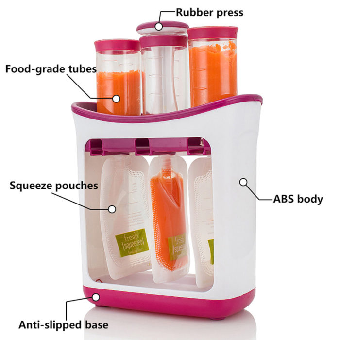 Baby Food Maker Puree Storage Pouches