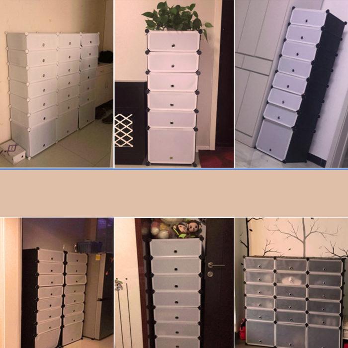 Shoe Cabinet Footwear Storage Organizer