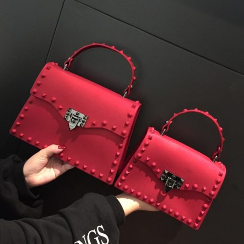 Jelly Bag Designer Rockstud Purse