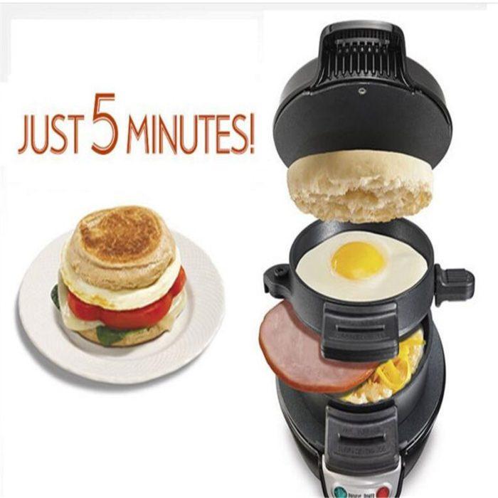 Sandwich Maker Breakfast Toastie Grill