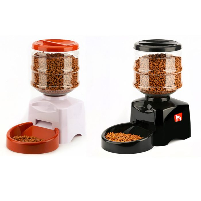 Automatic Dog Feeder AI Dispenser