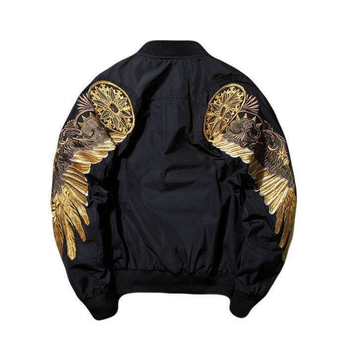 Bomber Jacket Eagle Wing Outerwear