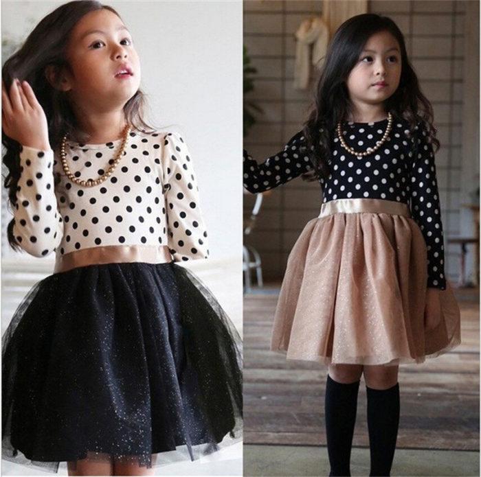 Party Dress Little Girl's Day Wear