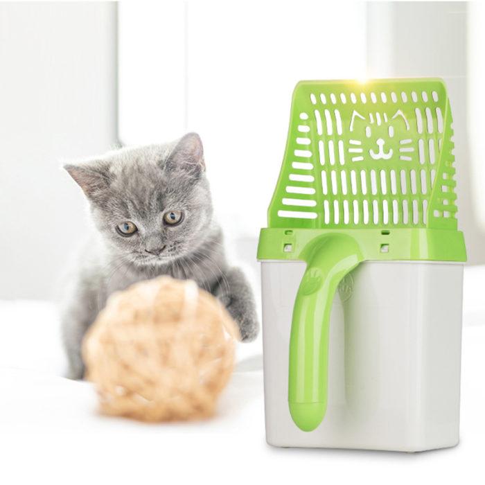 Cat Litter Scoop Litter Box Disposer