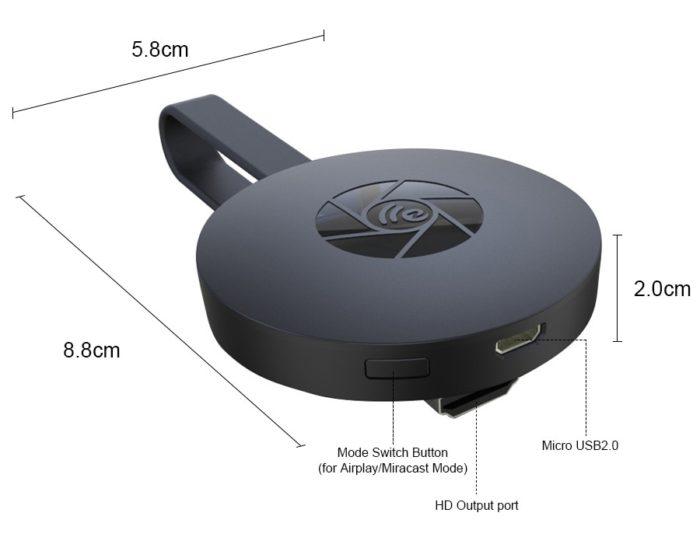 WiFi Dongle HDTV Mirroring Stick