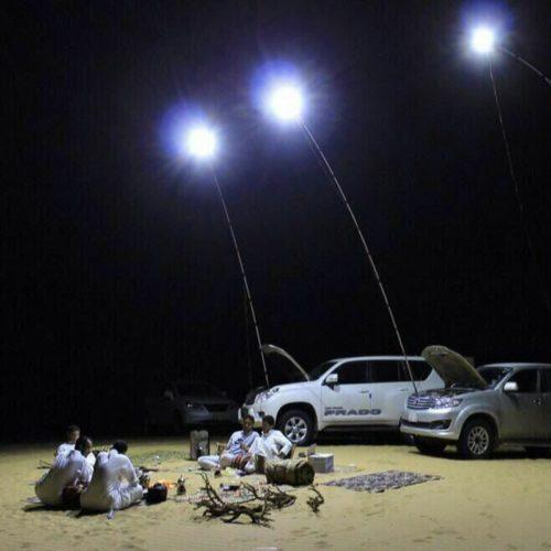Outdoor Lanterns Fishing Pole Lamp