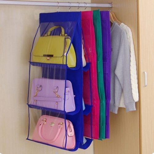 Handbag Organizer Hanging Closet Storage