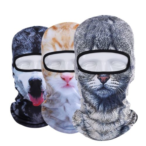 Motorcycle Face Mask Animal Headgear