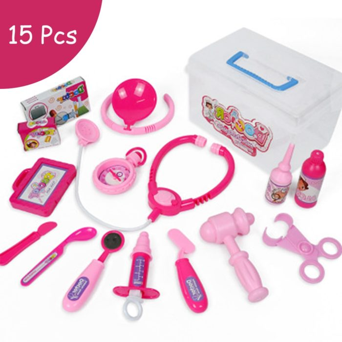 19pcs Doctor Set Kids Medical Kit