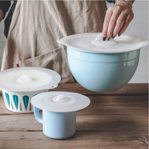 Silicone Food Covers Storing Lid